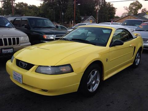 2003 Ford Mustang for sale at Auto King in Roseville CA