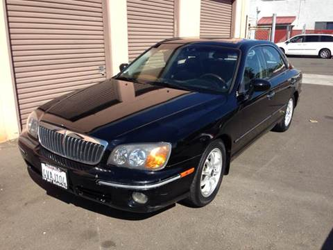2001 Hyundai XG300 for sale at Auto King in Roseville CA