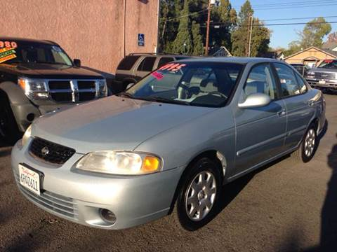 2002 Nissan Sentra for sale at Auto King in Roseville CA