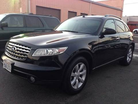 2005 Infiniti FX35 for sale at Auto King in Roseville CA