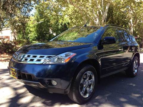 2004 Nissan Murano for sale at Auto King in Roseville CA