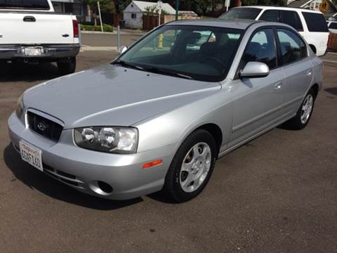 2001 Hyundai Elantra for sale at Auto King in Roseville CA
