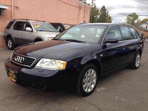 2000 Audi A6 for sale at Auto King in Roseville CA
