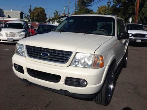 2004 Ford Explorer for sale at Auto King in Roseville CA