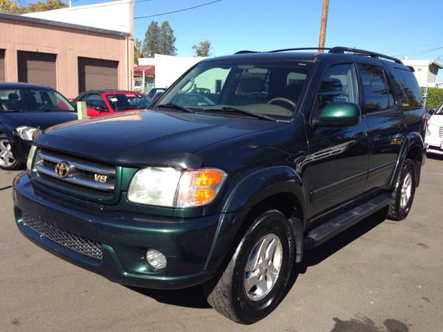 2001 Toyota Sequoia for sale at Auto King in Roseville CA