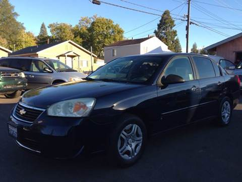 2007 Chevrolet Malibu for sale at Auto King in Roseville CA