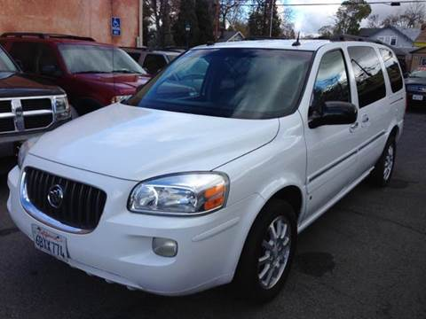 2006 Buick Terraza for sale at Auto King in Roseville CA
