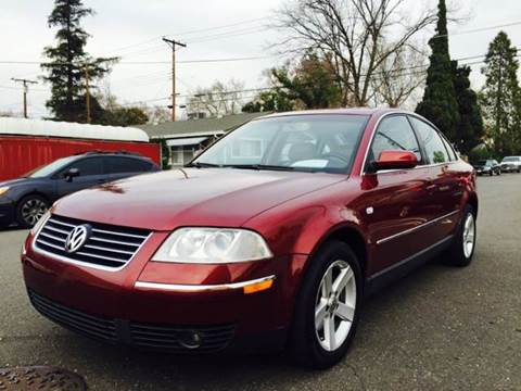 2004 Volkswagen Passat for sale at Auto King in Roseville CA