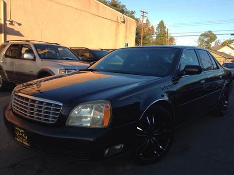 2004 Cadillac DeVille for sale at Auto King in Roseville CA