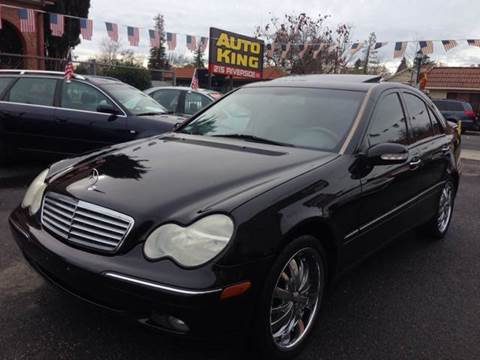 2002 Mercedes-Benz C-Class for sale at Auto King in Roseville CA