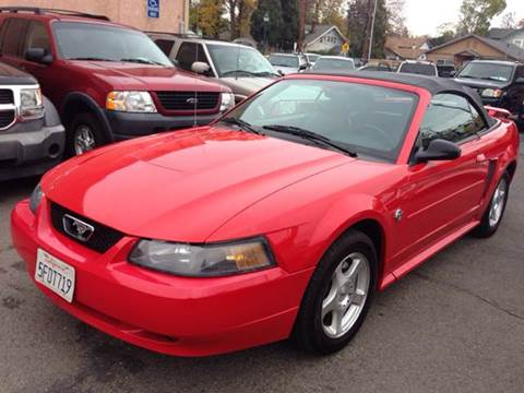 2004 Ford Mustang for sale at Auto King in Roseville CA