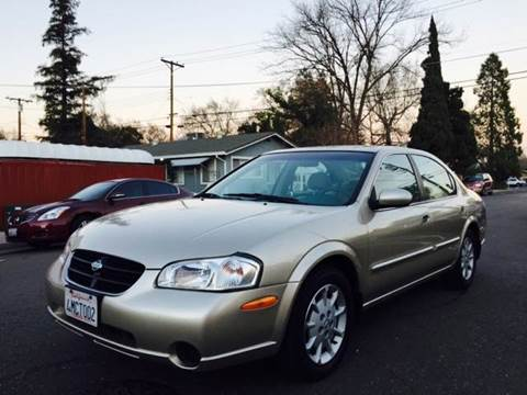 2000 Nissan Maxima for sale at Auto King in Roseville CA