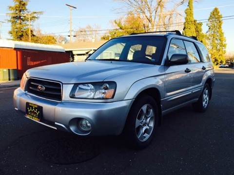 2003 Subaru Forester for sale at Auto King in Roseville CA