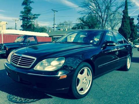 2002 Mercedes-Benz S-Class for sale at Auto King in Roseville CA