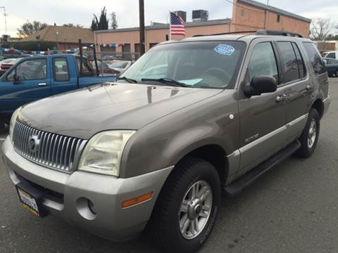 2002 Mercury Mountaineer for sale at Auto King in Roseville CA