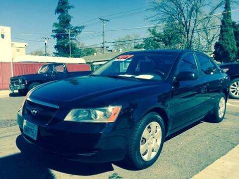 2006 Hyundai Sonata for sale at Auto King in Roseville CA