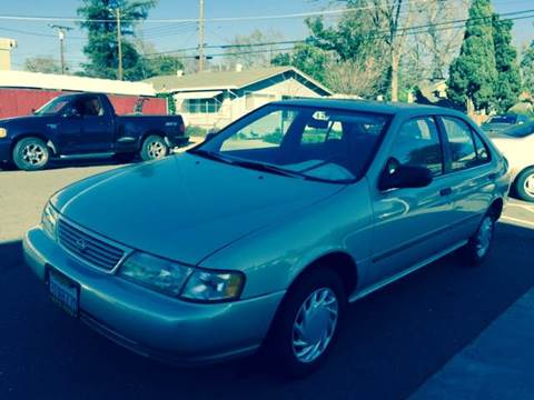1996 Nissan Sentra for sale at Auto King in Roseville CA