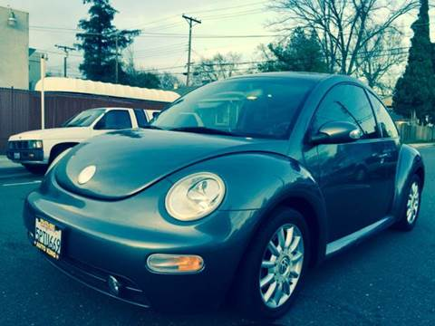 2005 Volkswagen New Beetle for sale at Auto King in Roseville CA