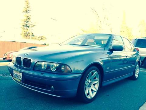 2002 BMW 5 Series for sale at Auto King in Roseville CA