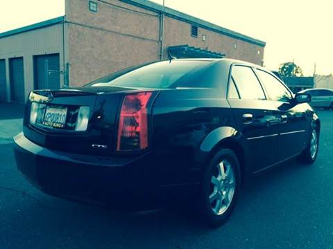 2007 Cadillac CTS for sale at Auto King in Roseville CA