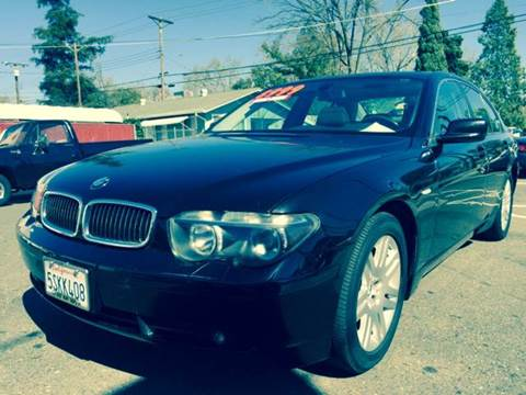 2003 BMW 7 Series for sale at Auto King in Roseville CA