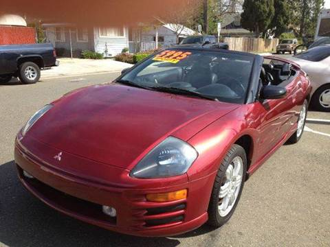 2001 Mitsubishi Eclipse Spyder for sale at Auto King in Roseville CA