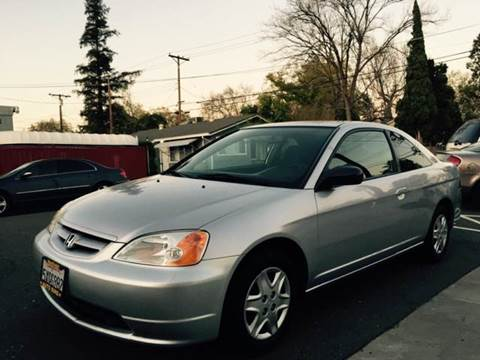 2003 Honda Civic for sale at Auto King in Roseville CA