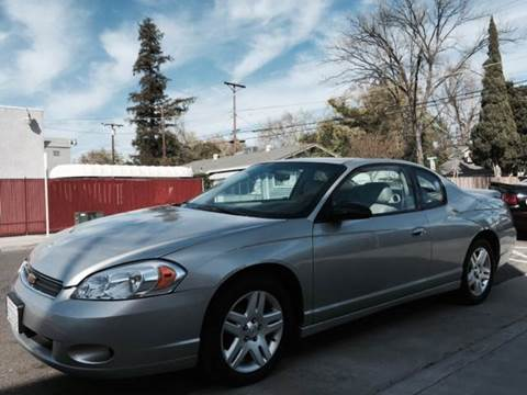 2007 Chevrolet Monte Carlo for sale at Auto King in Roseville CA