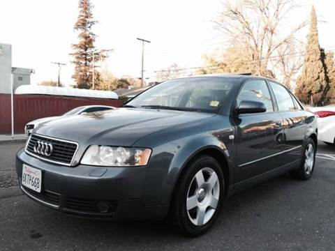 2002 Audi A4 for sale at Auto King in Roseville CA