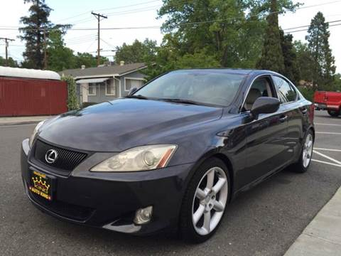 2006 Lexus IS 350 for sale at Auto King in Roseville CA