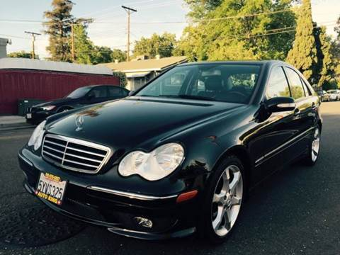 2007 Mercedes-Benz C-Class for sale at Auto King in Roseville CA