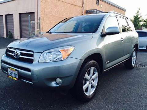 2008 Toyota RAV4 for sale at Auto King in Roseville CA