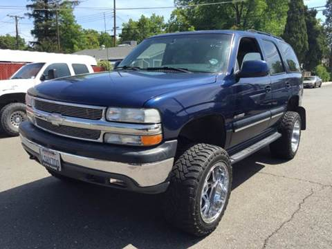 2001 Chevrolet Tahoe for sale at Auto King in Roseville CA