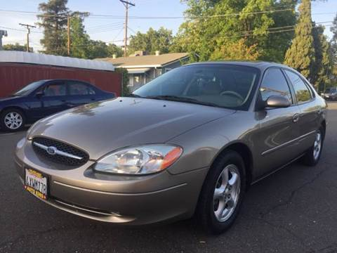 2003 Ford Taurus for sale at Auto King in Roseville CA