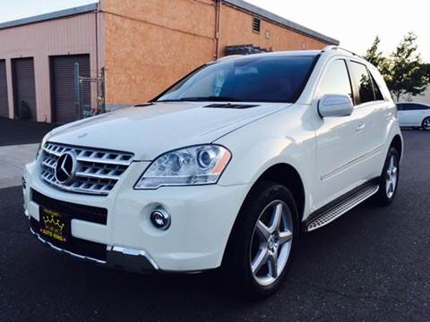 2009 Mercedes-Benz M-Class for sale at Auto King in Roseville CA