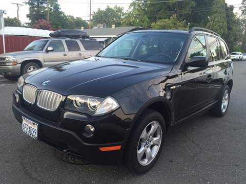 2008 BMW X3 for sale at Auto King in Roseville CA
