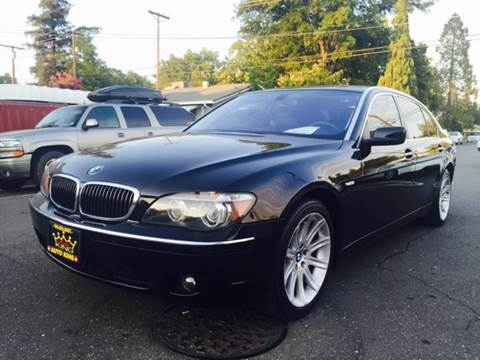2006 BMW 7 Series for sale at Auto King in Roseville CA