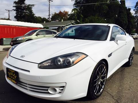 2007 Hyundai Tiburon for sale at Auto King in Roseville CA
