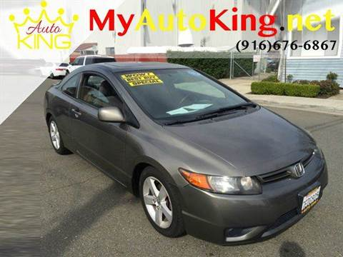 2007 Honda Civic for sale at Auto King in Roseville CA