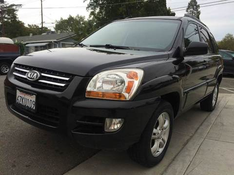 2005 Kia Sportage for sale at Auto King in Roseville CA