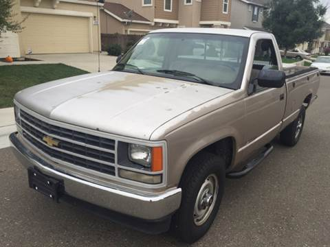 1988 Chevrolet C/K 2500 Series for sale at Auto King in Roseville CA
