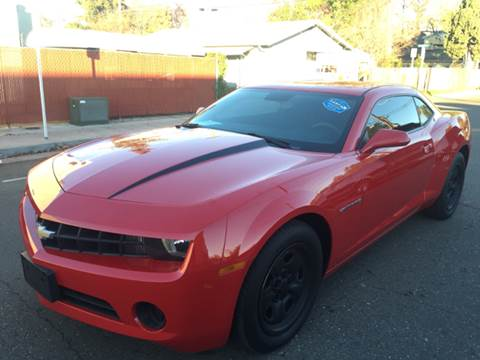 2010 Chevrolet Camaro for sale at Auto King in Roseville CA