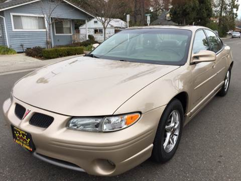 2002 Pontiac Grand Prix for sale at Auto King in Roseville CA