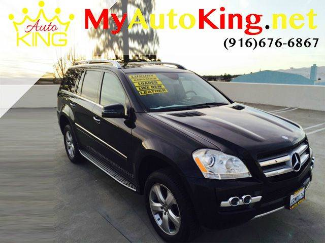 2011 Mercedes-Benz GL-Class for sale at Auto King in Roseville CA
