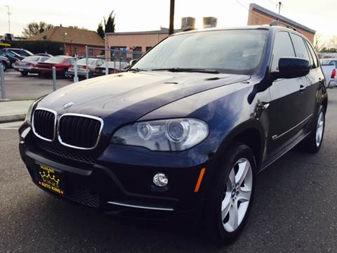 2008 BMW X5 for sale at Auto King in Roseville CA