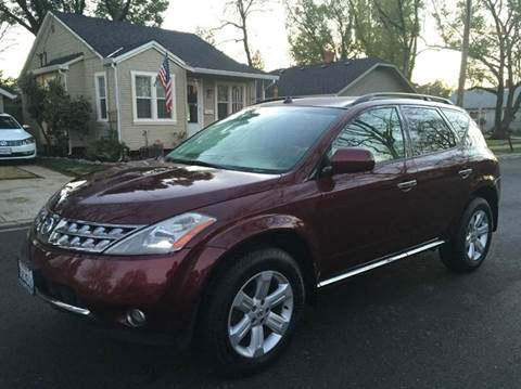 2006 Nissan Murano for sale at Auto King in Roseville CA