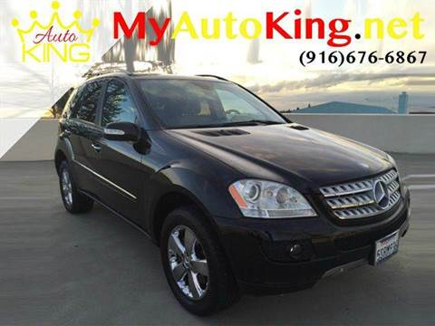 2006 Mercedes-Benz M-Class for sale at Auto King in Roseville CA