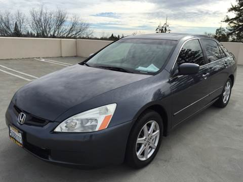 2004 Honda Accord for sale at Auto King in Roseville CA