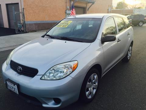 2007 Toyota Matrix for sale at Auto King in Roseville CA