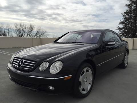 2003 Mercedes-Benz CL-Class for sale at Auto King in Roseville CA